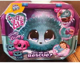 "Little Live Scruff a Luvs Blue ""Who Will You Rescue"" Pet  Hot Toy for Ch... - $34.15"