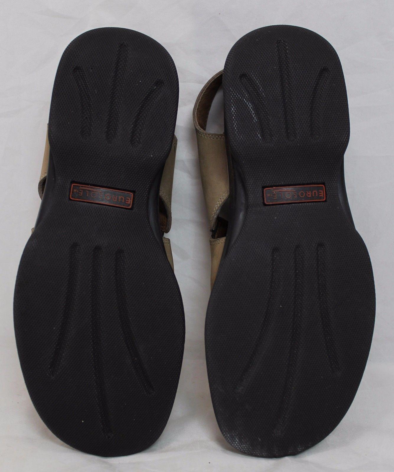 8ead9cab3964 Women s Naturalizer Casual Wedge Sandals Brown Adjustable Back size 8 M EUC