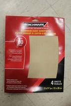 1230-974 Benchmark Aluminum Oxide Sandpaper 60 Grain 4 Sheets 3 Pack - $12.43