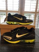 NIKE AirMax Hyperfuse Alpha 2011+ Sneakers NIB #454347-033 Metal/Black &... - $143.55
