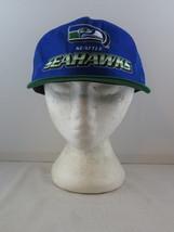 Seattle Seahawks Hat (VTG) - Two Tone Trucker Classic by New Era -Adult ... - $49.00