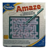 Thinkfun Amaze 16 Mazes in One Changes Every Time you Play All Ages 0318 - $14.06