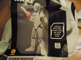 Size Large 12-14 Disney Star Wars Stormtrooper Storm Trooper Costume Mas... - $35.00