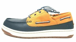 TIMBERLAND MENS SHOES CRSMSTR II CASUAL 35555 CLASSIC LEATHER BLUE BROWN... - $42.99