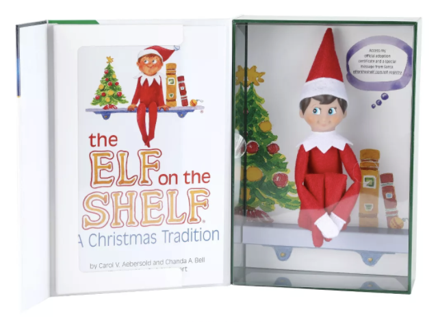 The Elf on the Shelf - a Christmas Tradition : Boy Light by Chanda Bell and Caro