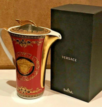 Versace by Rosenthal Coffee Pot 1,20 L/ 40 oz Medusa Ikarus NEW - $673.20