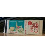 Vintage Matchbook Cover A2 New York City World's Fair Coca Cola Coke Tow... - $44.99