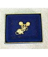 Vintage 1970s Avon Mouse w/ Eyeglasses Pin Brooch in Box - $18.32