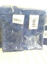 (LOT OF 3 ) Room Essentials Wash Cloth Set DANCING BLUE  12x12 -( New With Tags) image 3