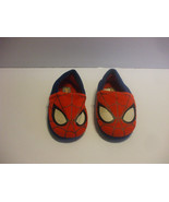 Red & Blue Spiderman Slippers Size 11/12 Toddlers 3-4 years Old - $6.91
