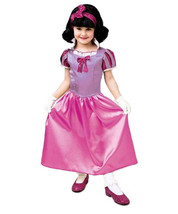CLASSIC STORYBOOK PRINCESS SNOW WHITE HALLOWEEN COSTUME GIRL'S SIZE MEDI... - $20.46