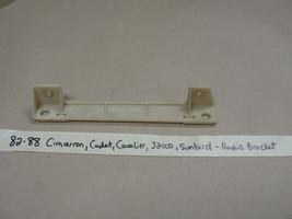 82-90 Gm Cavalier J2000 Sunbird Cimarron Dash Radio Mounting Mount Bracket Bezel - $24.99