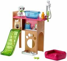 Barbie Pet Room & Accessories Playset Puppy Bath, NEW - $19.99
