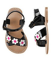 Gymboree Girls Daisy Park Sandals 8  NWT - $16.99