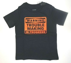 The Childrens Place Toddler Boy T-Shirt Warning Trouble Making Size 3T NWT - $13.57