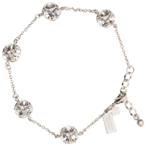 Kate Spade Lady Marmalade Chain Link Bracelet, Silver