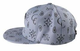 Crooks & Castles Men's Cement Monogram C Woven Strapback Baseball Hat Cap NWT image 5