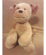 "BUILD A BEAR light brown tan PUPPY DOG 13"" plush stuffed animal - $9.13"
