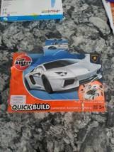 Airfix QUICK BUILD Lamborghini Aventador LP 700-4 Snap Plastic Model Kit... - $12.87