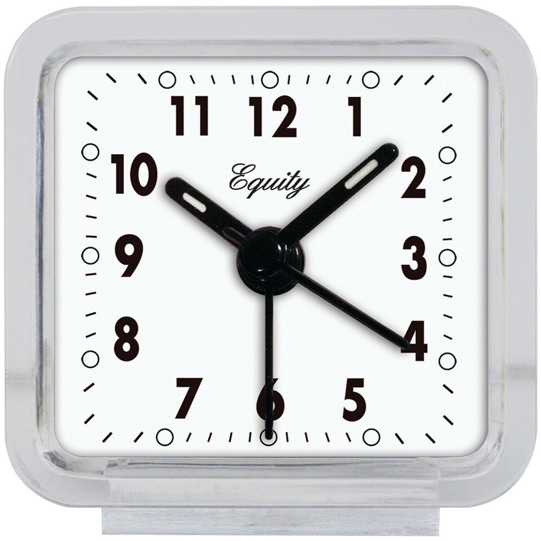 Equity by La Crosse 21038 Clear Quartz Alarm Clock - $2.74
