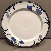 "Dansk Platter Chop Plate Round 13"" Floral Belles Fleurs Blue Tivoli Line... - $18.94"