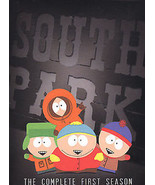 SOUTH PARK SEASON 1 (DVD, 2004, 3-Disc Set, NEWER SLIM-LINE BOX) NEW - $7.79