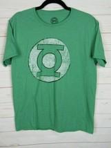 DC Comics Original Unisex Short Sleeve Green w/Green Lantern Logo Size L W1032 - $6.99