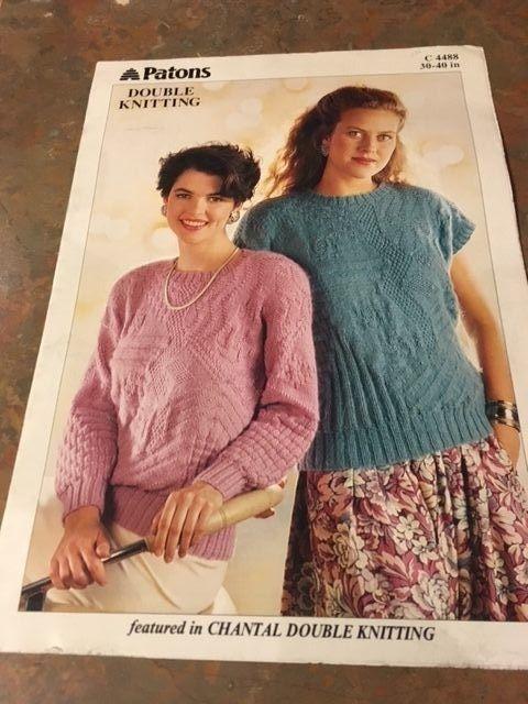 New Vtg Patons Chantal Double Knitting And Similar Items