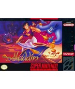 Aladdin SNES Great Condition Fast Shipping - $29.93