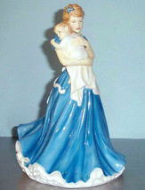 Royal Doulton A Mother's Love Pretty Ladies Figurine HN5431 Mom & Baby 2... - $218.90