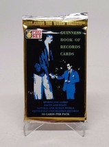 1992 PRO SET Guinness Book of World Records Cards Sealed Pack - $4.94