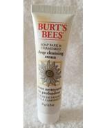 Burt's Bees Soap Bark Chamomile DEEP CLEANSING CREAM Travel Tube .75 oz/... - $7.92