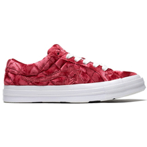 Converse x Golf Le Fleur Ox One Star (Quilted Velvet/ Barbados Cherry) M... - $144.99