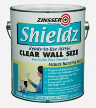 Zinsser Shieldz CLEAR Wall Size Clear Primer 1 gal. Ready-To-Use Tintabl... - $28.49