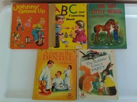 Vintage Wonder Books Children's Books Lot of 5 - $7.92