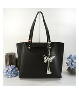 Sophia Webster Hola Black Leather Butterfly Print Tote Bag NWT - $490.55