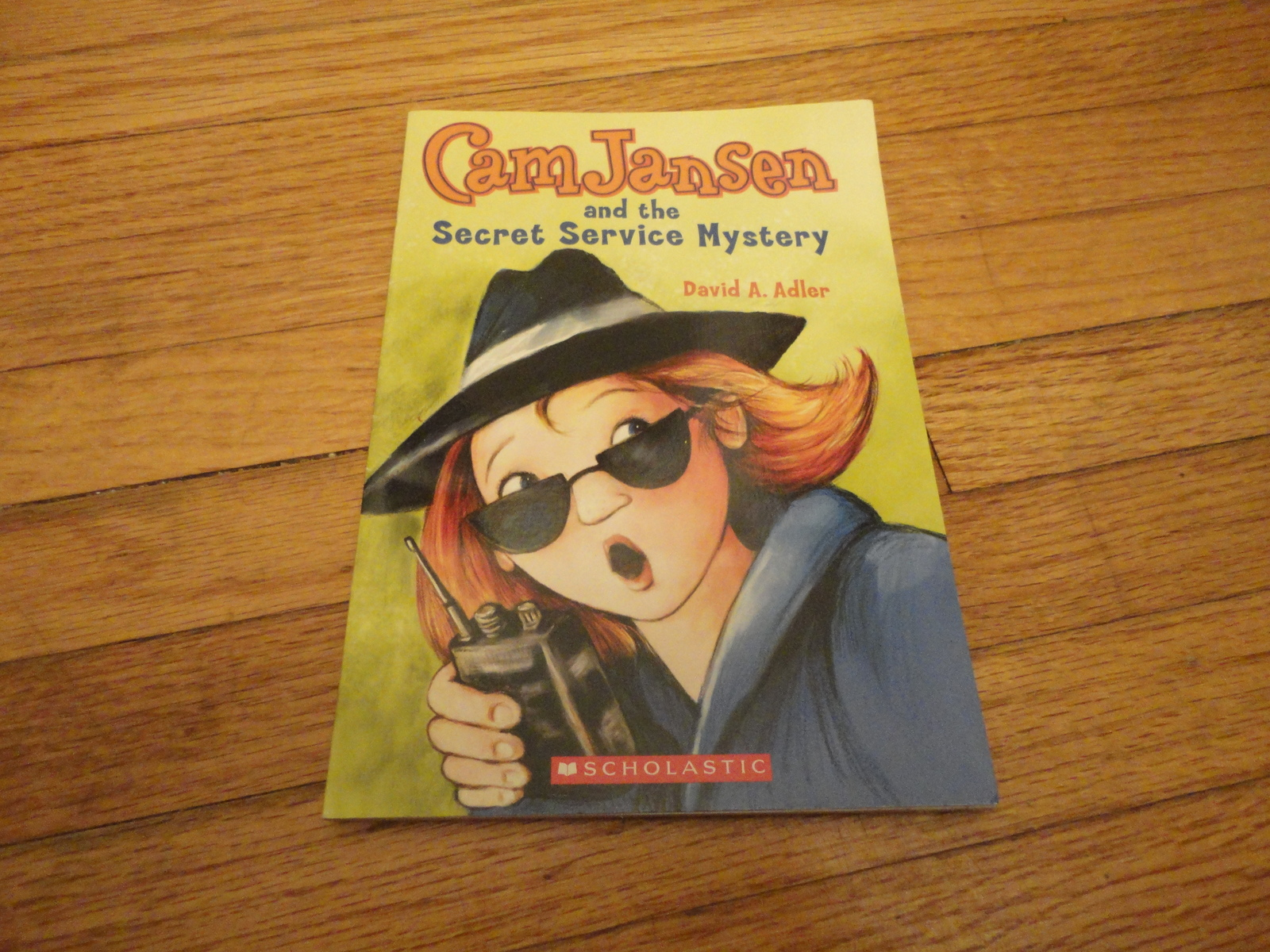 BOOK David A. Adler 'Cam Jansen and the Secret Service Mystery' Scholastic PB