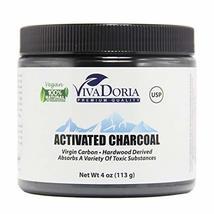 VIVADORIA Virgin Activated Charcoal Powder, Food Grade, 4 oz. - $8.99