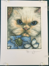 Cat Art Notecard - Oscar - $4.50