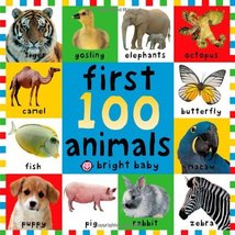 First 100 Animals [Board book] Priddy, Roger - $2.31