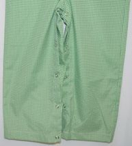 Ellie O Gingham Full Lined Cotton Polyester Blend Longall Size 3 Color Green image 4