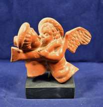 Cupid Eros end Phyche Sculpture ancient Greek reproduction ceramic statue - $57.99