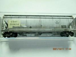 Micro-Trains Stock # 09444720  CSX/ex B&O 3- Bay Hopper CSX Family Series (N) image 1