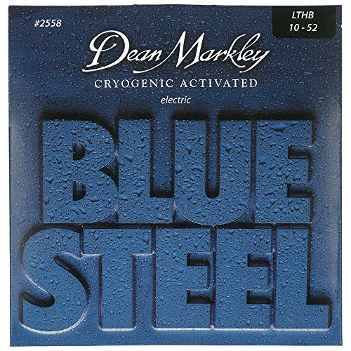Blue Steel Electric Guitar Strings : dean markley blue steel electric guitar strings 10 52 2558 light top heavy bo strings ~ Vivirlamusica.com Haus und Dekorationen