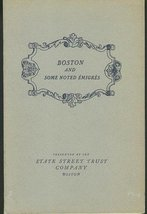 BOSTON and Some Noted Emigres 1938 French Immigrants - $11.88
