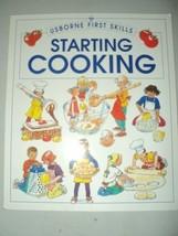 Starting cooking (Usborne first skills) Harvey, Gill - $1.83