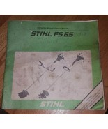 Stihl FS 65 Owners Manual - $5.00