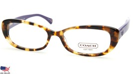 NEW COACH HC 6035 Cory 5103 Spotty Tortoise /Purple EYEGLASSES FRAME 52-... - $44.06