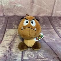 "Super Mario 5""Goomba Plush Doll Brown Mushroom Figure Stuffed  - $6.64"