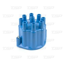 A-Team Performance 8-Cylinder Male Pro Series Distributor Cap & Rotor Kit (Blue) image 2